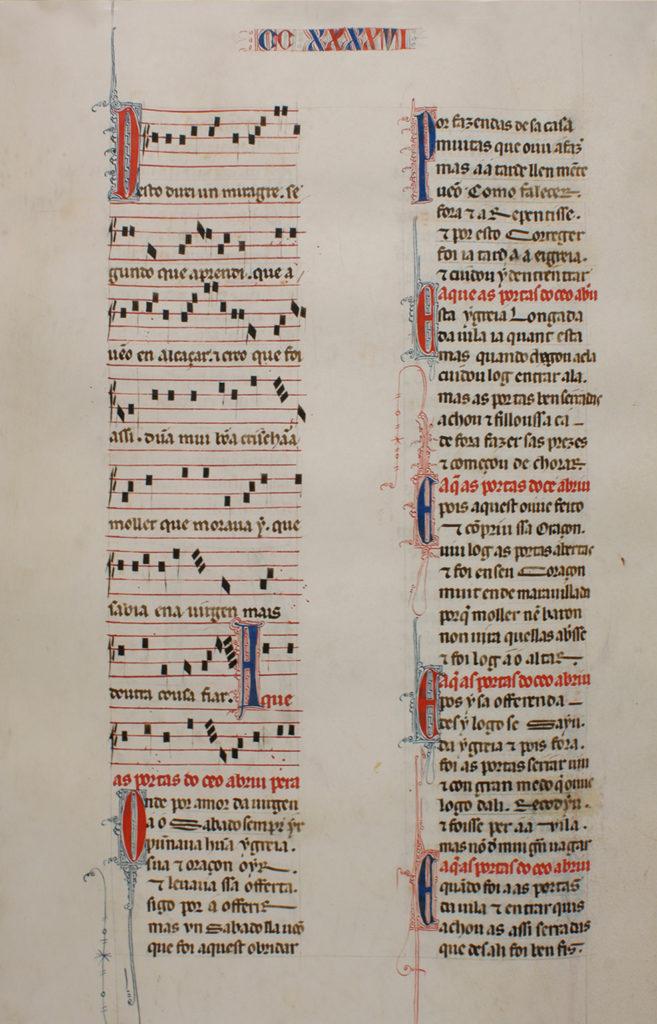 Cantiga nº 246_Real Biblioteca del Monasterio de San Lorenzo de El Escorial_2