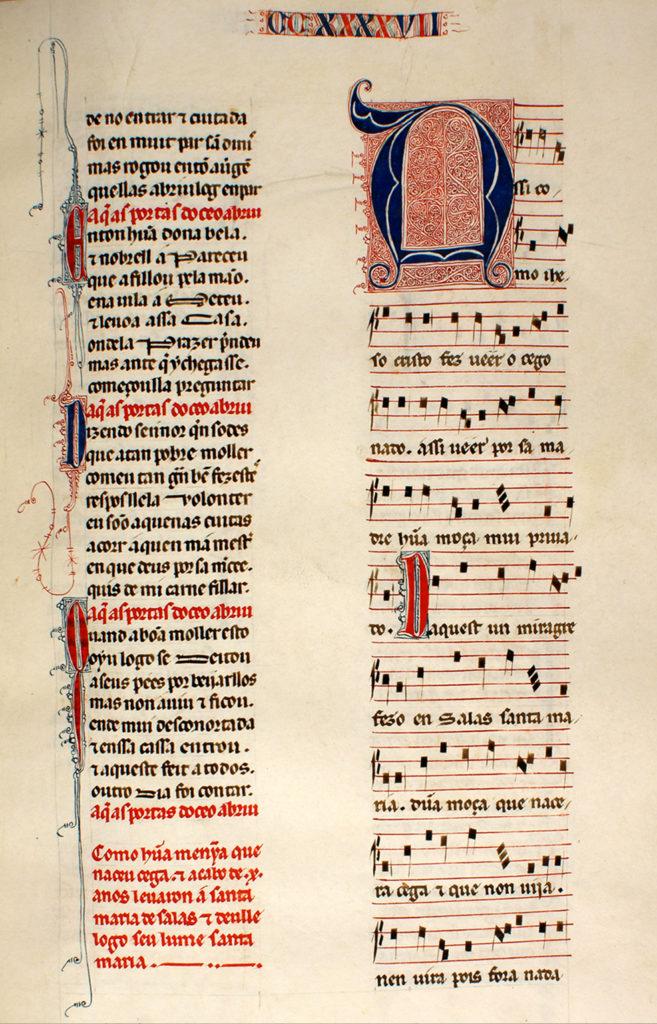 Cantiga nº 246_Real Biblioteca del Monasterio de San Lorenzo de El Escorial_3