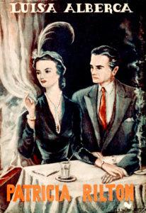 Portada de la novela Patricia Rilton, finalista del Premio Nadal en 1950