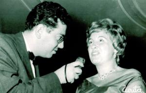 Luisa entrevistada por su sobrino Jose Luis Péccker