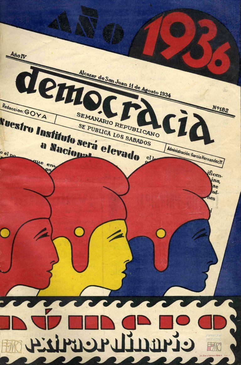 Gorros frigidos. Democracia 1936