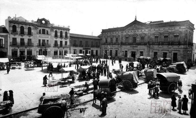 Plaza de la república. 1932