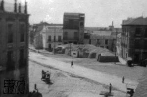 Refugio Plaza de España. Años 40_Foto José Belmonte
