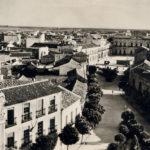 Panoramica plaza años 50