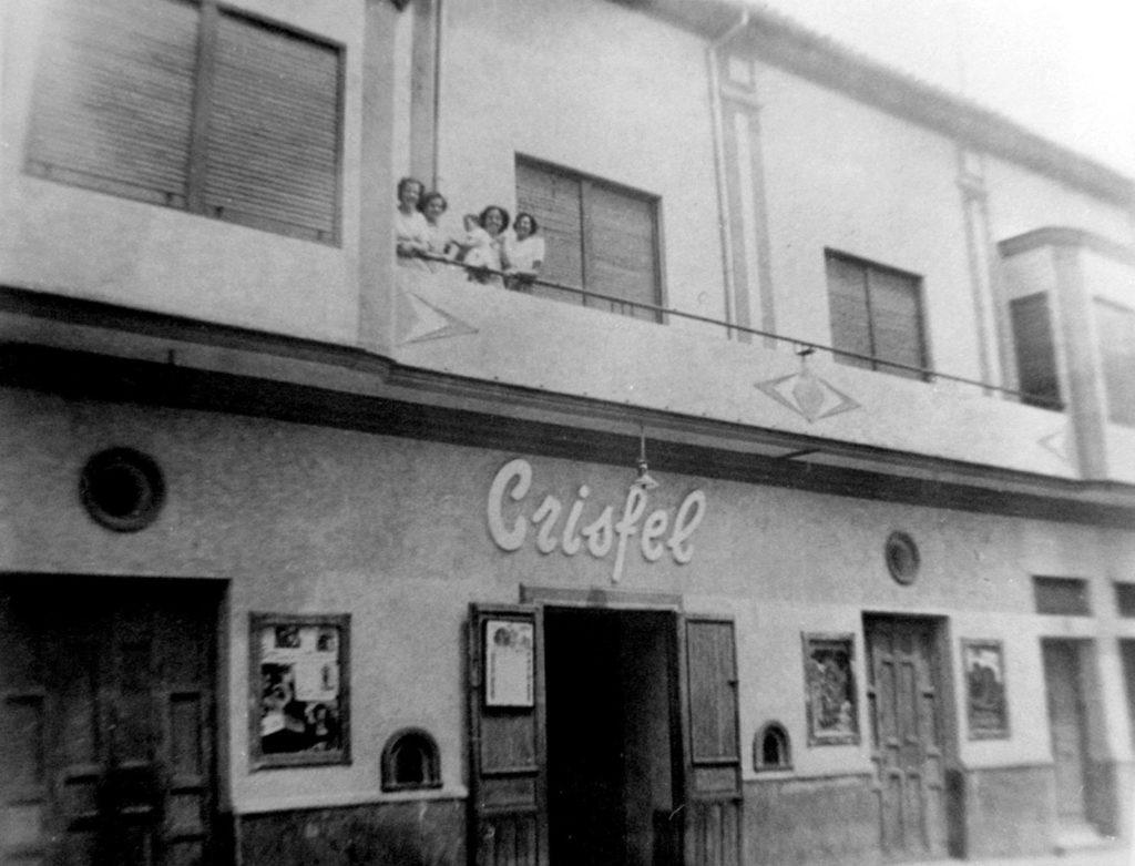 Cine Crisfel años 50.