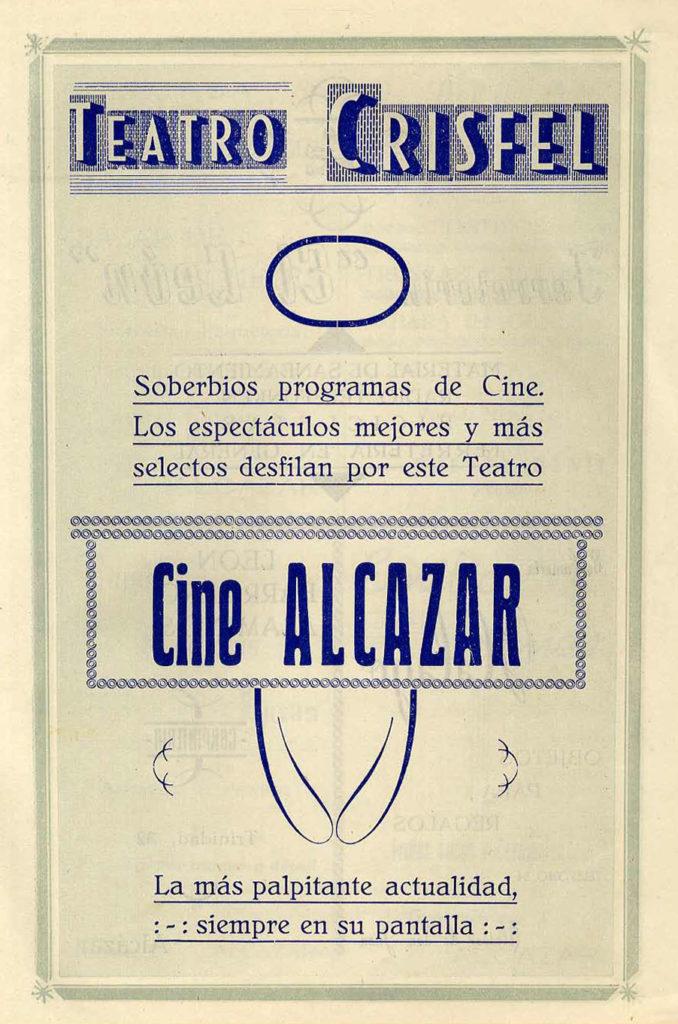 Crisfel y Alcázar 1955