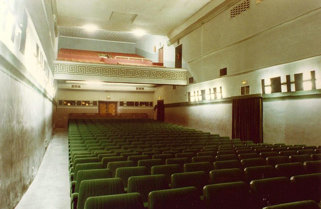 Interior Sala del cine Alcazar