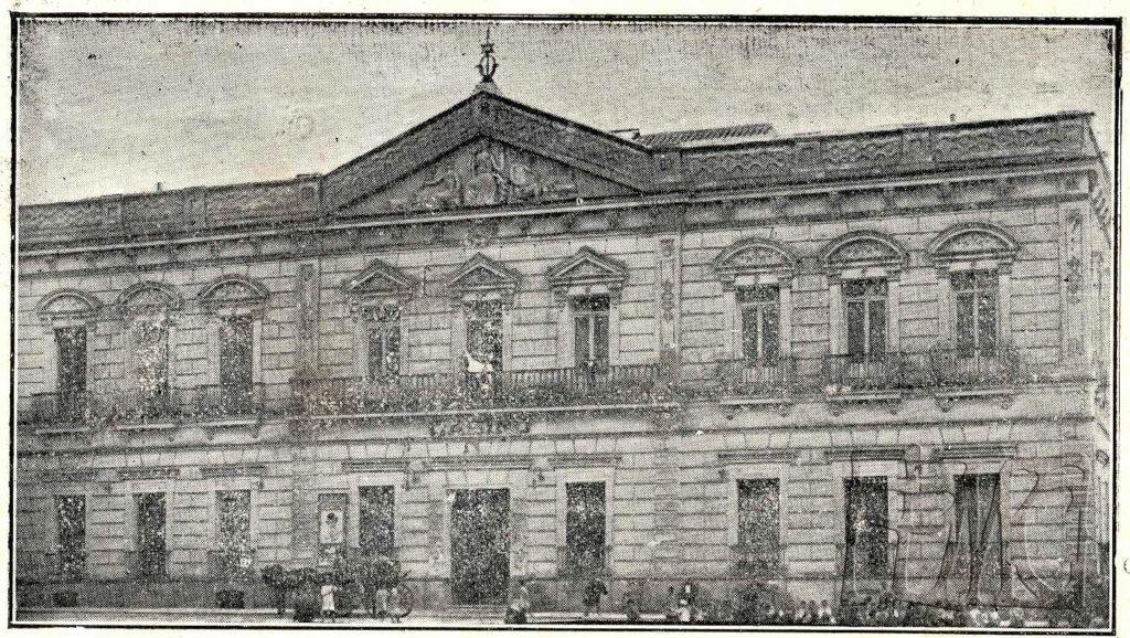Fachada del actual ayuntamiento antiguo cine Ideal