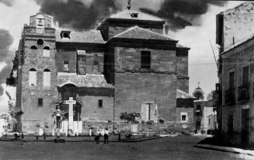 Plaza de santa quiteria. Torre campanario