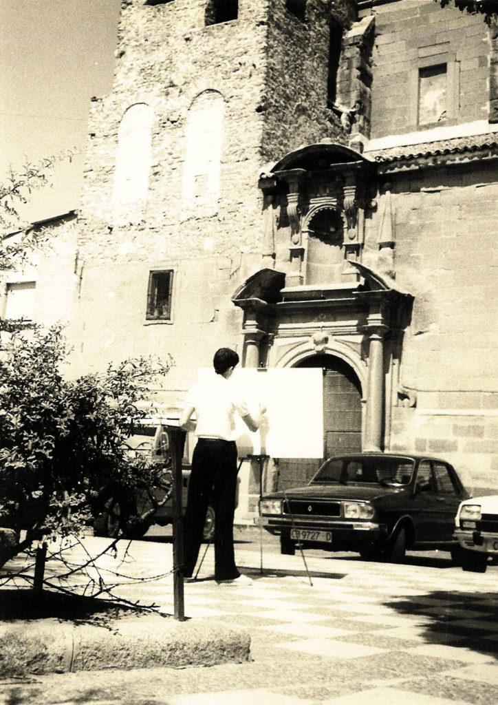 Santa Quiteria años 80.