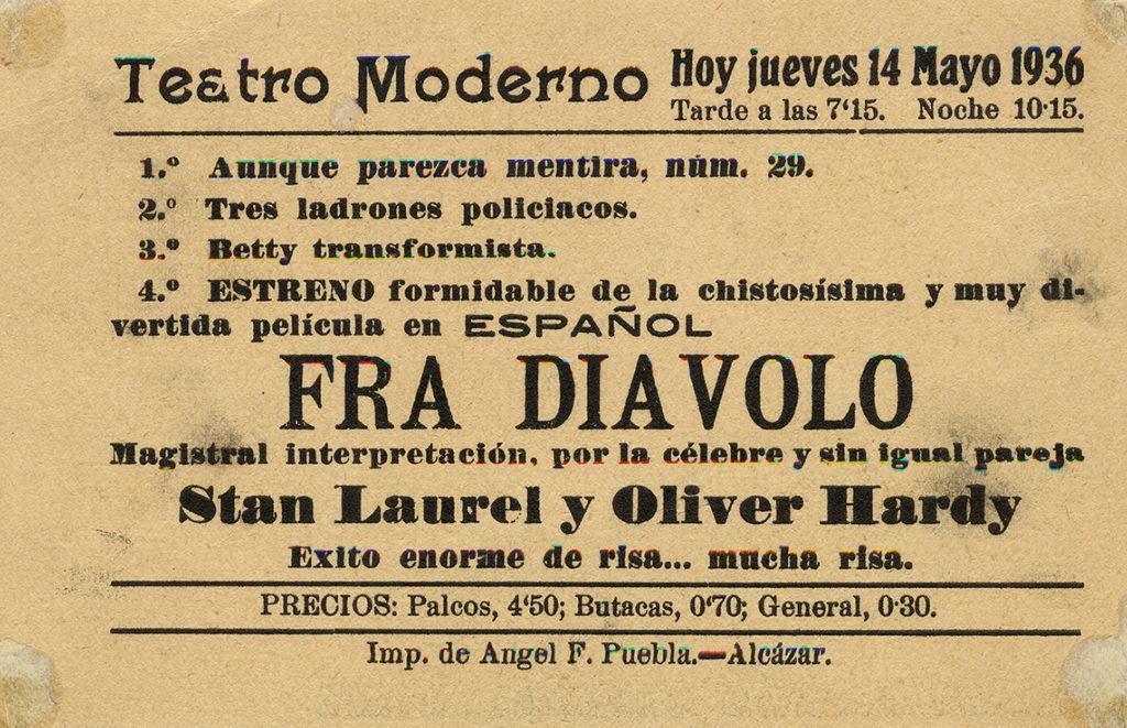 Teattro Moderno (3) Colección María Teresa Lizcano