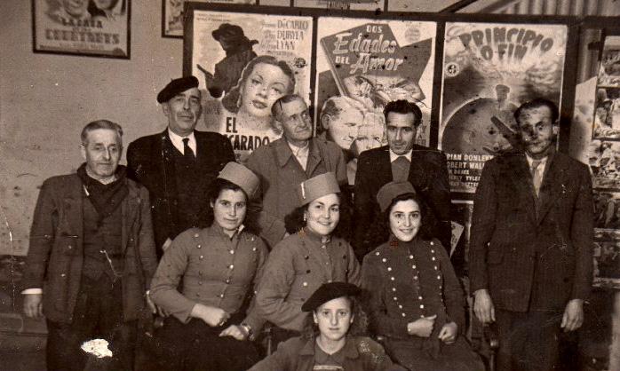 Trabajadores del cine Crisfel