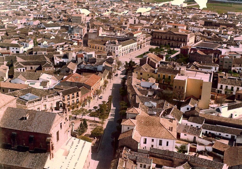 Vista panorámica de Alcázar de San Juan